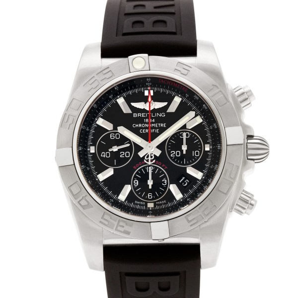 Breitling Chronomat AB0110 stainless steel 44mm auto watch