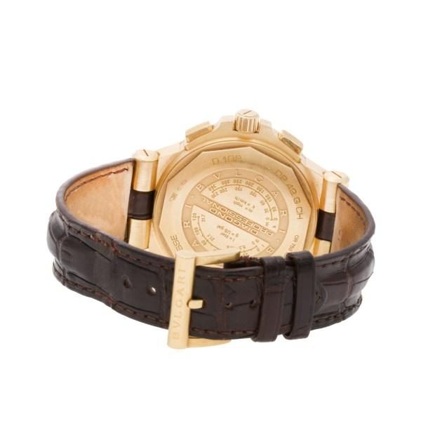 Bvlgari Diagono Professional DP42GCH 18k 42mm auto watch