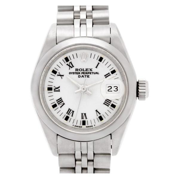 Rolex Date 69160 stainless steel 26mm auto watch