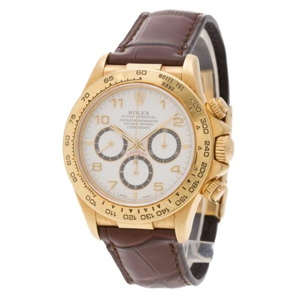 Rolex Daytona 16518 18k 40mm auto watch