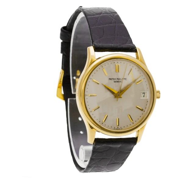 Patek Philippe Calatrava 3998 18k 34mm auto watch