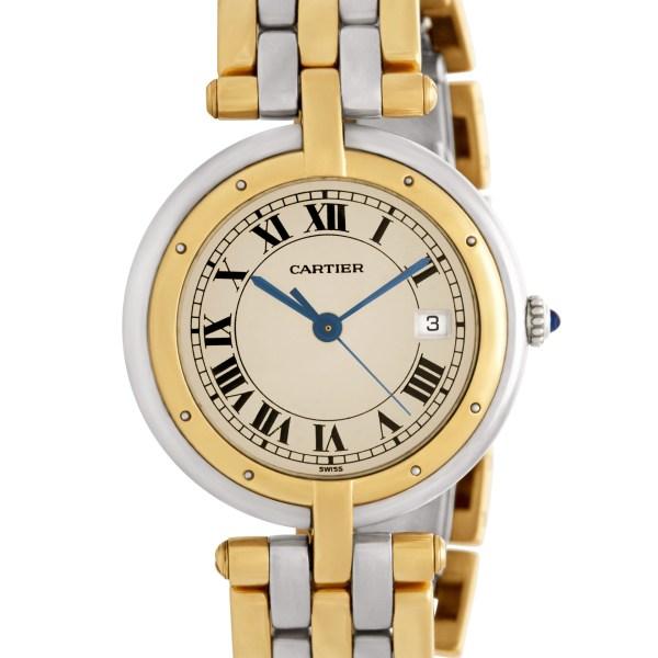 Cartier VLC 18k & steel 30mm Quartz watch