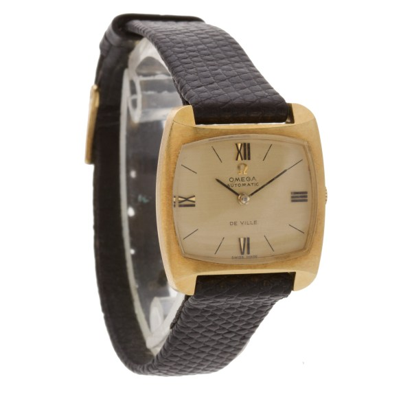 Omega De Ville 18k 25mm auto watch