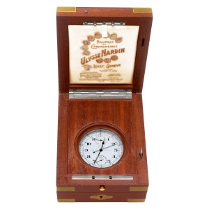 Ulysse Nardin Deck Watch stainless steel 64.5mm Manual watch