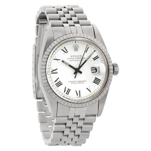 Rolex Datejust 16030 Stainless Steel White dial 36mm Automatic watch
