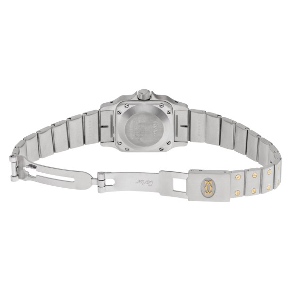 Cartier Santos w20054d6 Stainless Steel and 18k gold  white dial mm Auto
