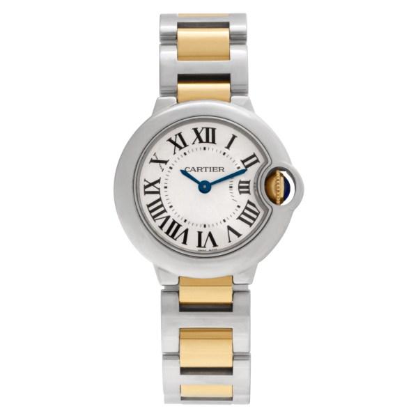 Cartier Ballon Bleu W2BB0010 Stainless Steel Silver dial 29mm Quartz watch