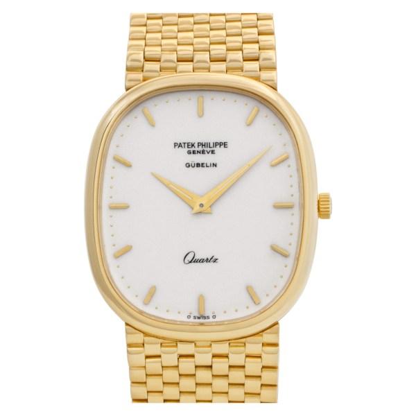 Patek Philippe Ellipse 3838/1 18k Cream dial 30mm Quartz watch
