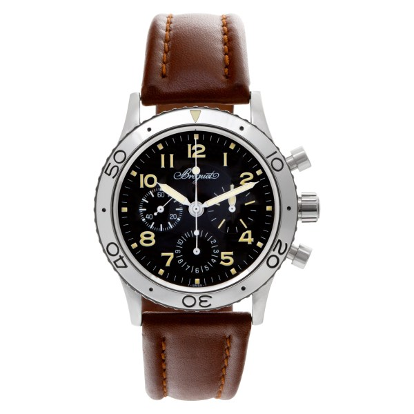 Breguet Type Xx 3800ST/92/3W6 Stainless Steel Black dial 39mm Automatic watch