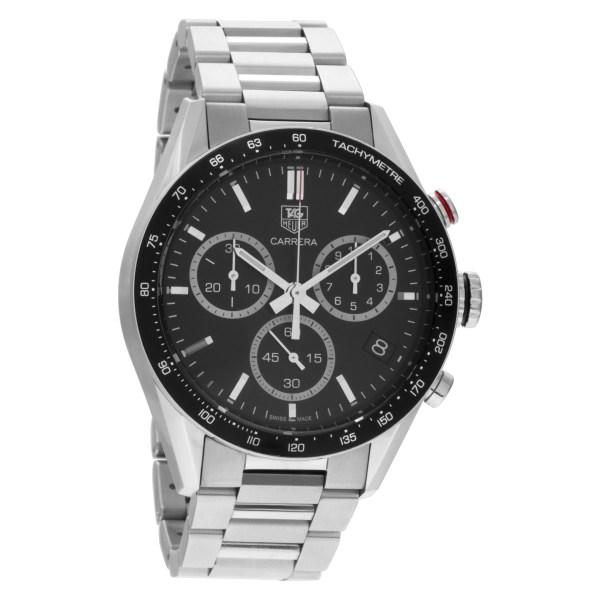 Tag Heuer Carrera CV1A10 stainless steel 43mm Quartz watch