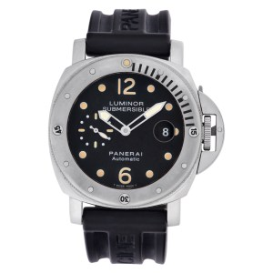 Panerai Submersible PAM00024 Stainless Steel Black dial 43mm Automatic watch