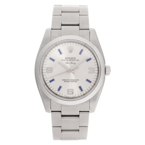 Rolex Air King 114200 stainless steel 34mm auto watch