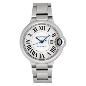 Cartier Ballon Bleu W6420071 stainless steel 33mm auto watch