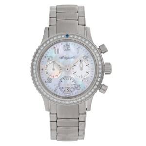 Breguet Type Xx 4821 stainless steel 33mm auto watch