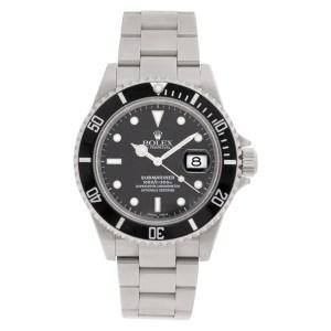 Rolex Submariner 16610T stainless steel 40mm auto watch