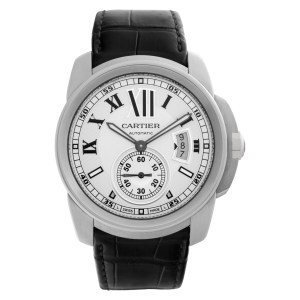 Cartier Calibre W7100037 stainless steel 42mm auto watch