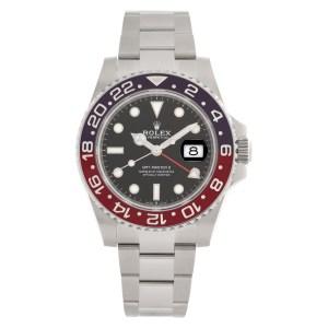 Rolex GMT-Master II 126710BLRO stainless steel 40mm auto watch
