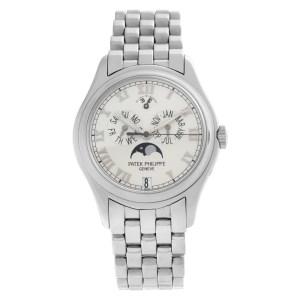 Patek Philippe Annual Calendar 5036-1 18k white gold 36.5mm auto watch