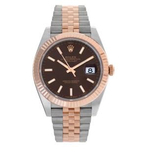 Rolex Datejust 41 126331 18k & steel 41mm auto watch