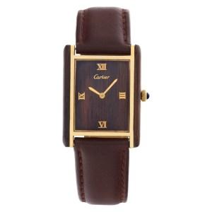 Cartier Tank gold plate 25mm Manual watch