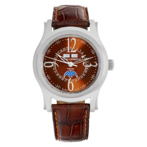 Cuervo Y Sobrinos Habana 2804 Stainless Steel Bronze dial 43mm Automatic watch