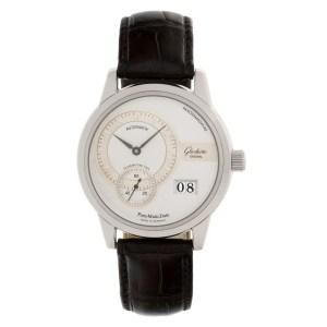 Glashutte 90-01-02-02-04 stainless steel mm auto watch