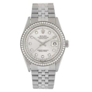 Rolex Datejust 16014 stainless steel 34mm auto watch
