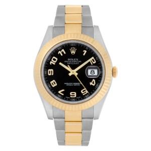 Rolex Datejust II 116333 18k & steel 41mm auto watch