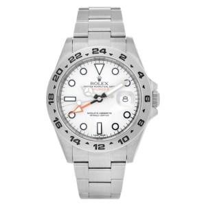 Rolex Explorer II 216570 stainless steel 40mm auto watch