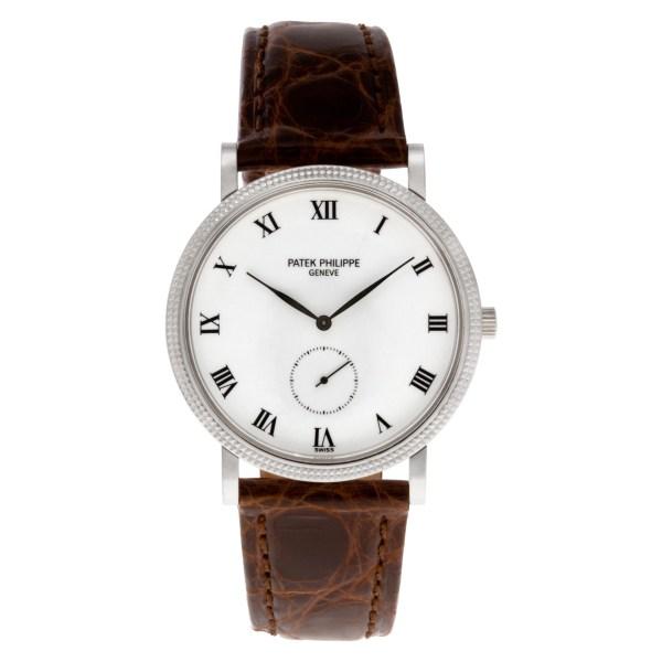 Patek Philippe Calatrava 3919 18k white gold mm  watch