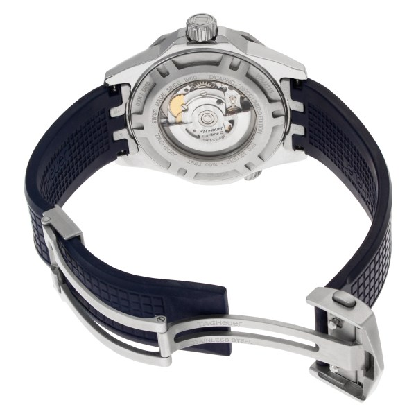 Tag Heuer Aquaracer WAJ2115 stainless steel 43mm auto watch