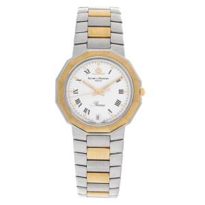 Baume & Mercier Riviera 5131.3 Stainless Steel White dial 34mm Quartz watch