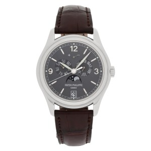 Patek Philippe Annual Calendar 5146G-010 18k white gold 38mm auto watch