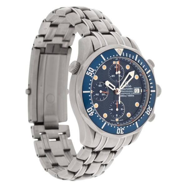 Omega Seamaster 22988046 titanium 41.5mm auto watch