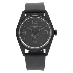 Bell & Ross Vintage BR 123 pvd 41mm auto watch