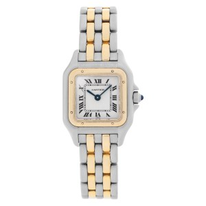 Cartier Panthere W25028B 18k & steel 22mm Quartz watch