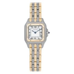 Cartier Panthere 166921 18k & steel 21.6mm Quartz watch