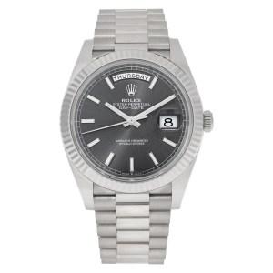 Rolex Day-Date 40 228239 18k white gold 40mm auto watch