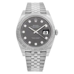 Rolex Datejust 41 126334 stainless steel 41mm auto watch