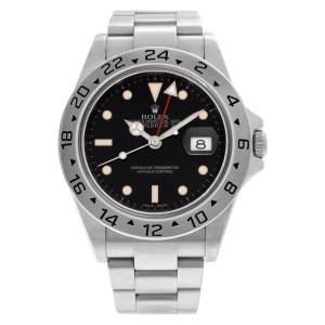 Rolex Explorer 16570 stainless steel 39mm auto watch