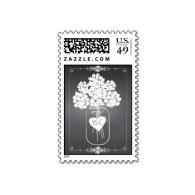 chalkboard_mason_jar_floral_personalized_postage-172731878436269315