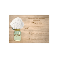 country_rustic_mason_jar_hydrangea_rsvp_invitation-161861133056139075