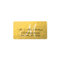 elegant_gold_black_monogram_wedding_label-106003719402669270