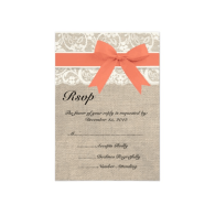 lace_coral_ribbon_and_burlap_wedding_rsvp_card_invitation-161856360470217733