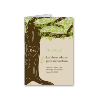 oak_tree_wedding_program_card_greeting_cards-137478978863673693