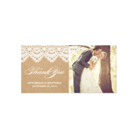 rustic_lace_wedding_thank_you_photo_card-243764920708043400
