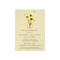 sunflowers_on_mason_jar_bridal_shower_invitation-161328498419045341