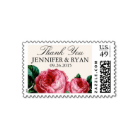 vintage_rose_wedding_thank_you_postage-172313657915269105