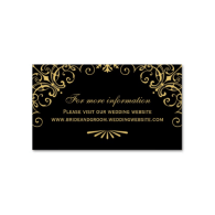 wedding_website_card_art_deco_style_business_card-240414727987251509