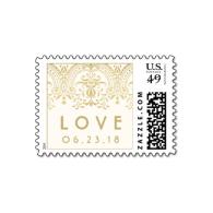 custom_love_postage_vintage_glamour_in_beige-172145396267156990